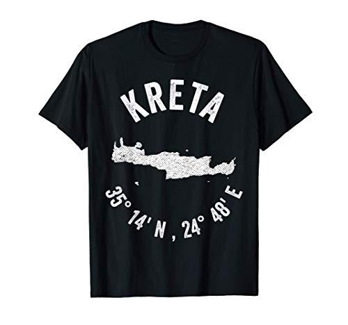 Kreta Griechenland Insel Urlaub Reise Sommer Sommerurlaub T-Shirt