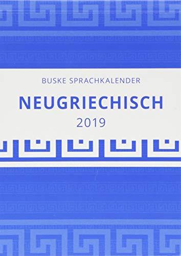 Sprachkalender Neugriechisch 2019