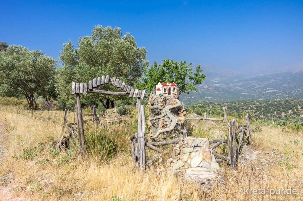 Ikonostase im Süden Kretas