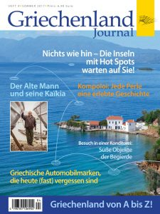 Cover Griechenland-Journal Nr. 4, Sommer 2017
