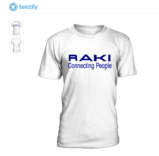 Raki Connecting People - Das ultimative Kreta-T-Shirt