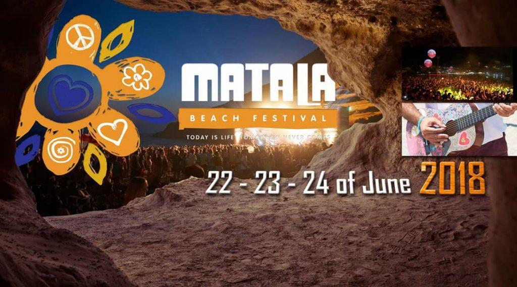 Banner Matala Beach Festival 2018