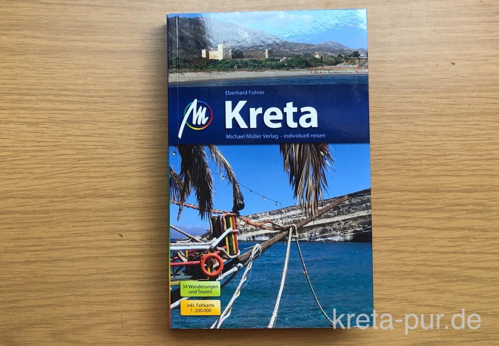 Eberhard Fohrer, Kreta - 21. Auflage - Der beste Kreta-Reiseführer