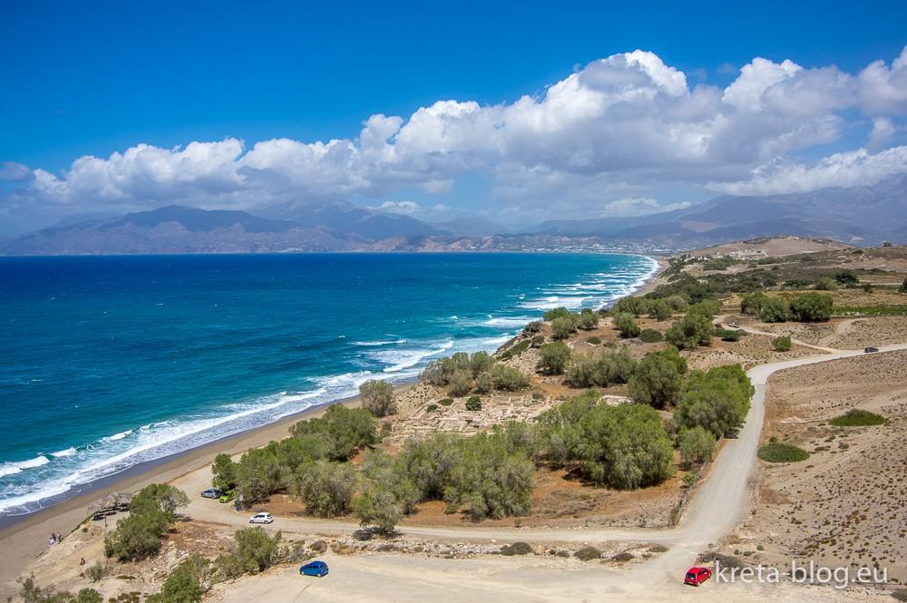 Komos Beach im mittleren Süden Kretas - immer eine Reise wert