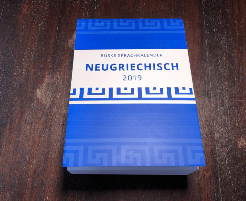 Kalender Neugriechisch 2019