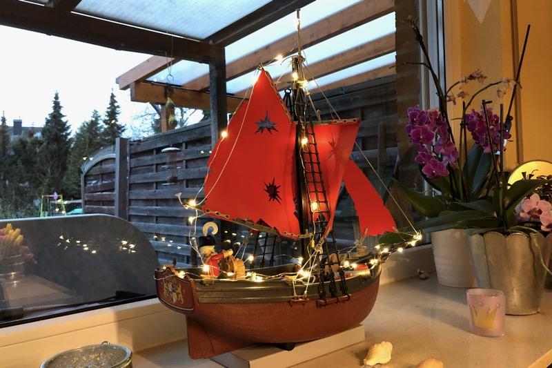Unser eigenes Weihnachtsschiff - Playmobil sei Dank ;-)