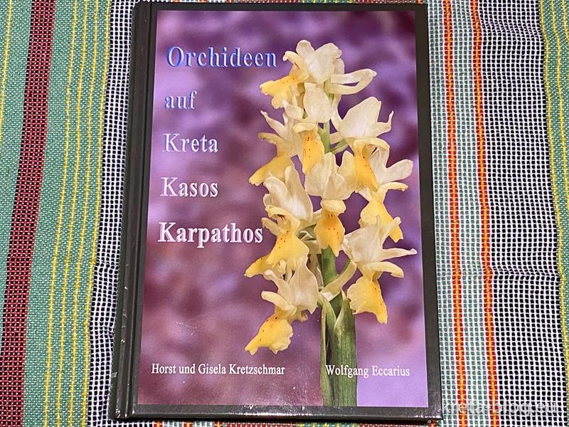Orchideen auf Kreta Kasos Karpathos - Ein fantastisches Buch - Cover